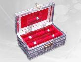 Bangle Box / Jewellery Box with Number Lock (Double Roll Oxidize) | Jewellery Box